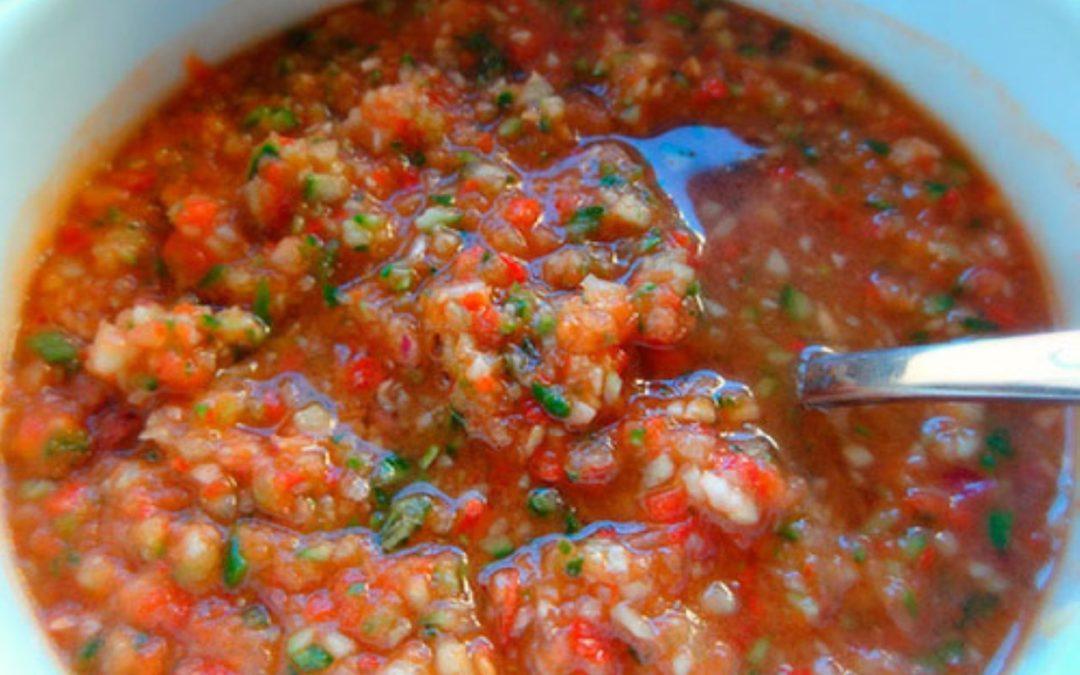 Svalende gazpacho – kold spansk suppe