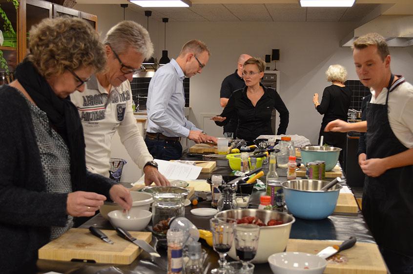 Danfoss Redan afholder deres teambuilding aften som et event tilrettelagt af Madværkstedet